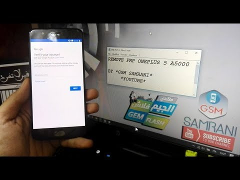 ONEPLUS 5 A5000 REMOVE GOOGLE ACCOUNT ANDROID 7 1 1 100% WORKING