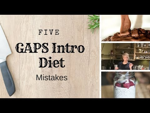5 Common GAPS Intro Diet Mistakes