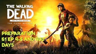 "The Walking Dead:Season 4 ""The Final Season"" Preparation Stream - Episode 1 Gameplay in 6 days"