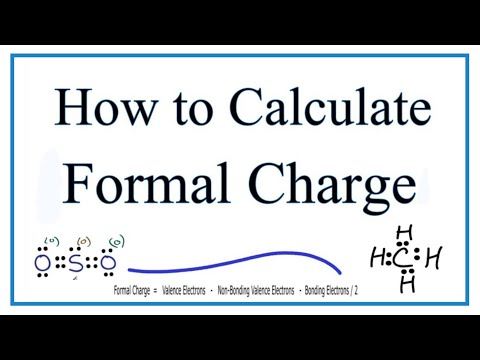Formal Charges: Calculating Formal Charge