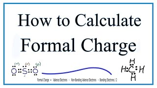 Formal Charges Calculating Formal Charge