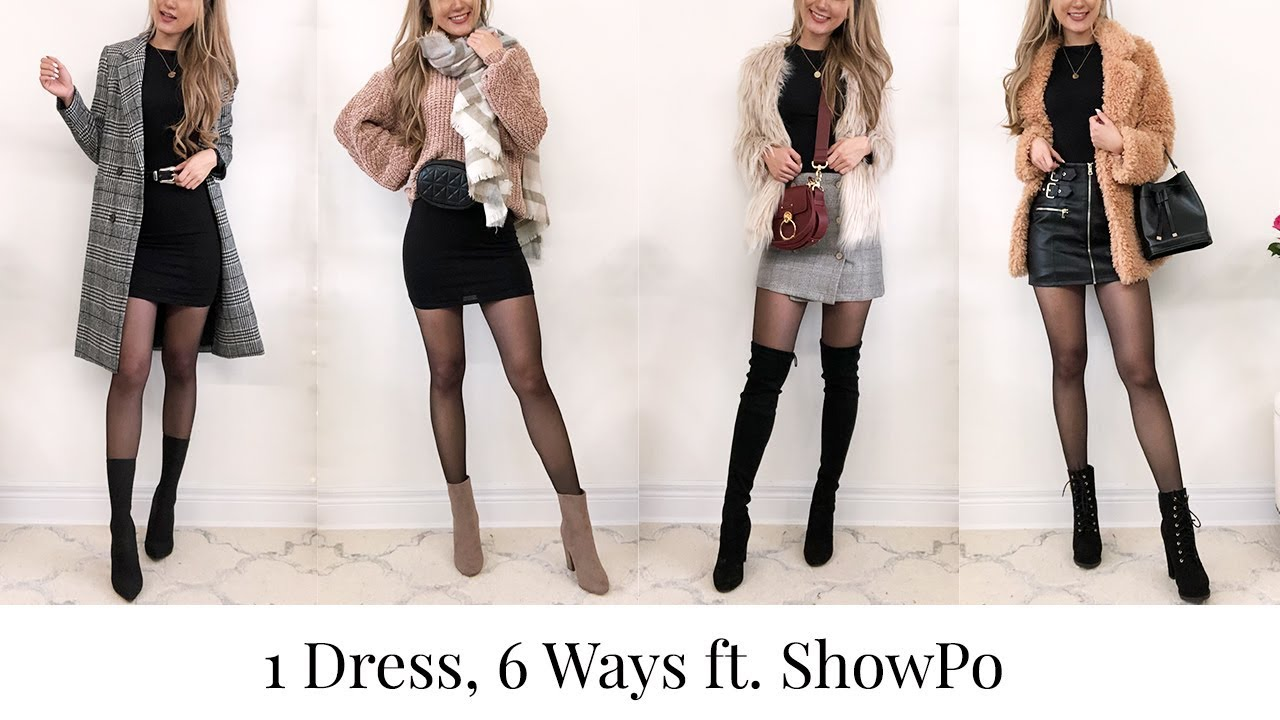 How To Style 1 Dress 6 Different Ways | Lookbook