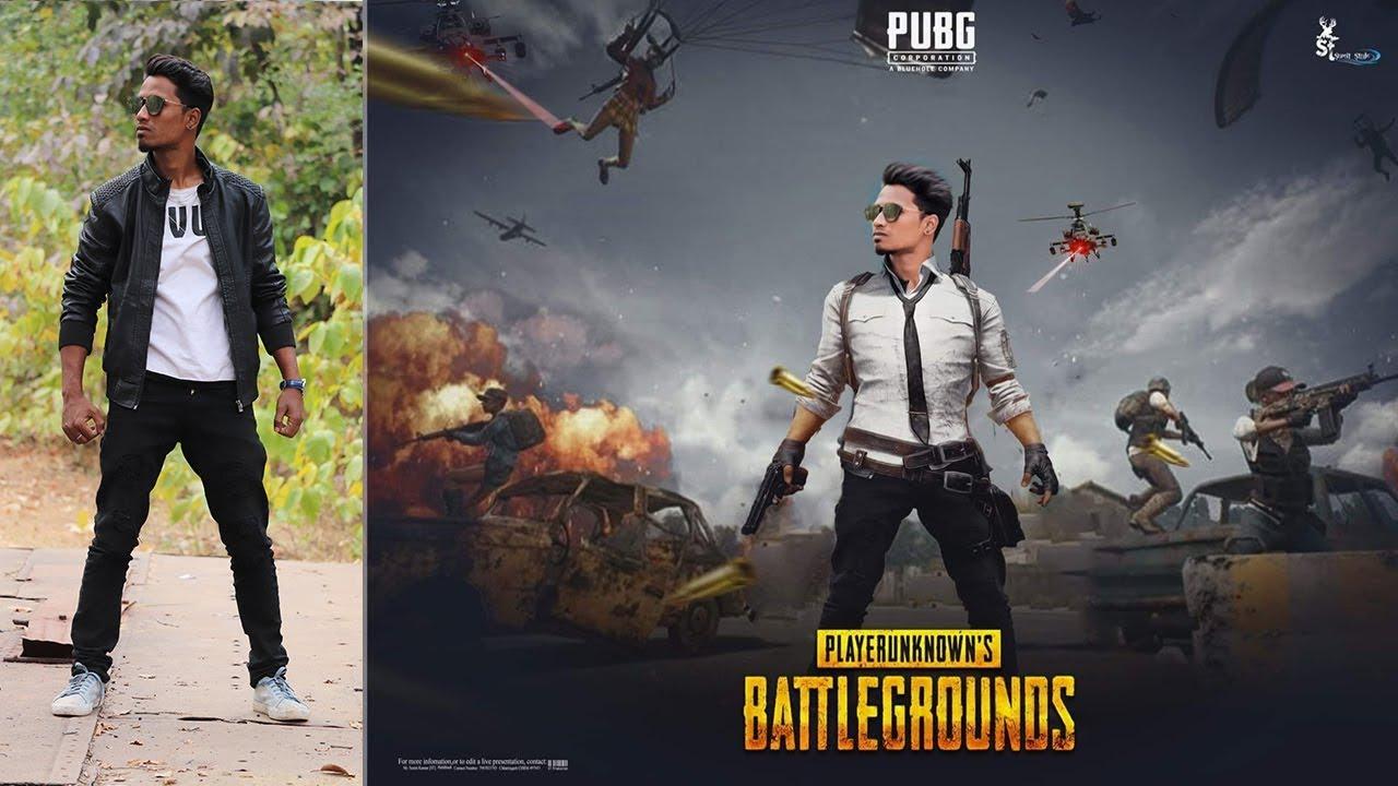 Pubg Game Poster Effect | Photoshop Manipulation Tutorial 2019 by Tapasheditz