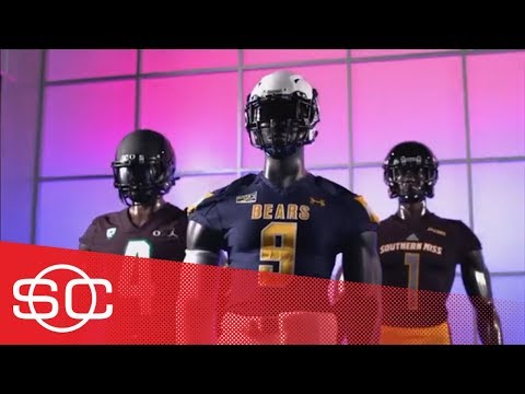2018 Week 10 of college football uniforms: Ohio State, Kansas, Baylor, Oregon | SportsCenter