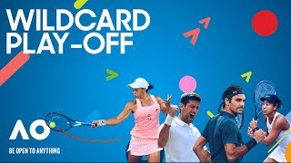 Australian Open 2020 Wildcard Play-Off Day 3 Court 8
