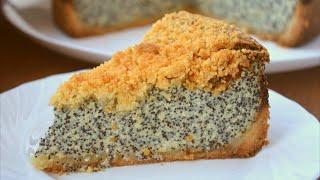 ✧ НЕМЕЦКИЙ МАКОВЫЙ ТВОРОЖНИК [Сырник с Маком] ✧ German poppy seed cheesecake ✧Марьяна