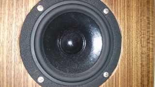 Vifa Drivers: Diy 3-way Floorstander Speaker - Sound Test (fs.3w-mk1)