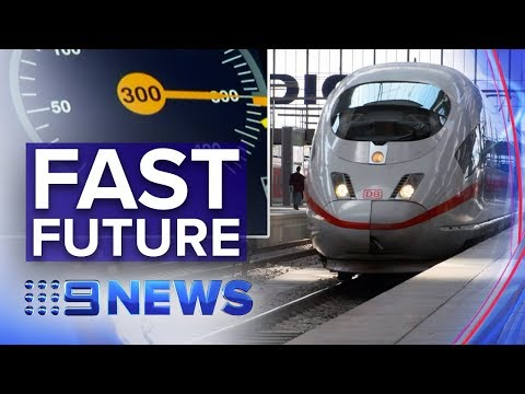 Germany's High-speed Trains Could Be Coming To NSW | Nine News Australia