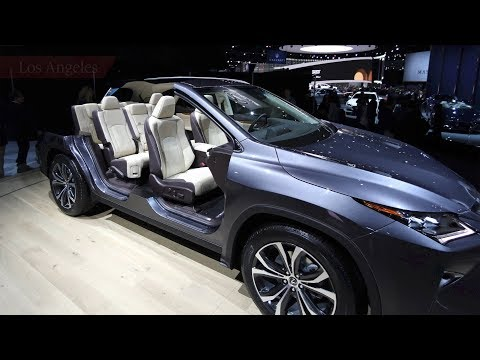 Globe Drive: Three-row SUVs the trend at L.A. auto show