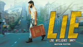 LIE (2017) Official Hindi Motion Poster | Nithiin, Arjun, Megha Akash, Ravi Kishan