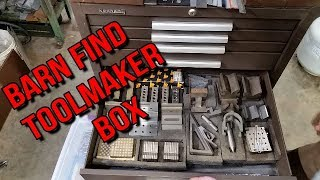 BARN FIND TOOLMAKER TOOL BOX SCORE! :-)