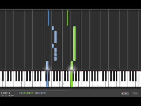 Nightwish amaranth tutorial 100 speed youtube for Classic house organ sound