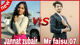 Tik Tok Musically_Mr Faisu Duet with Jannat zubair | Mr faisu & Jannat zubair compilation video 2019