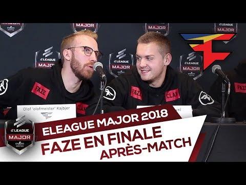 FaZe en finale : après-match vs Na'Vi - ELEAGUE Major Boston 2018