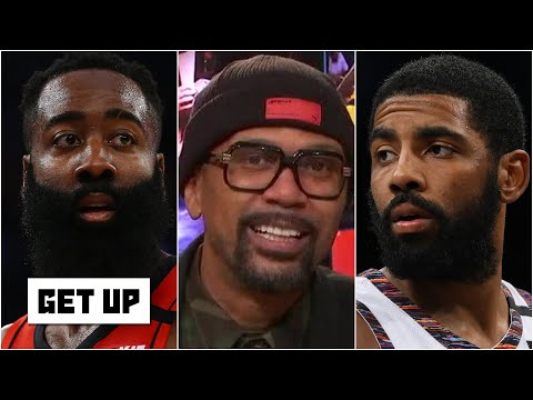 'I don't love it' - Jalen Rose reacts to James Harden to the Nets rumors | Get Up