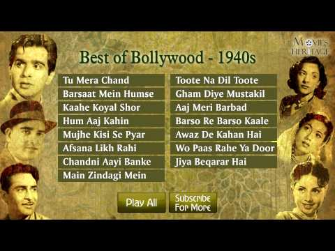 Best Of Bollywood  1940  Old Hindi Songs  Jukebox
