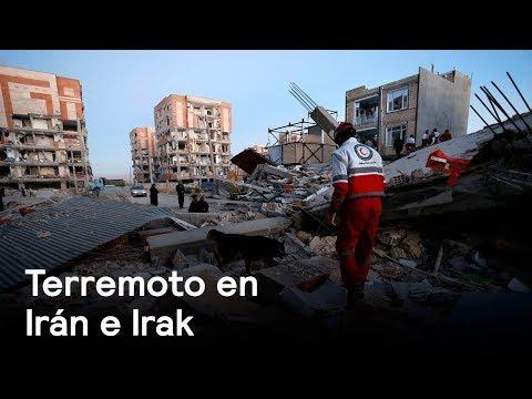 Terremoto de 7.3 sacude frontera de Irán e Irak - Despierta con Loret
