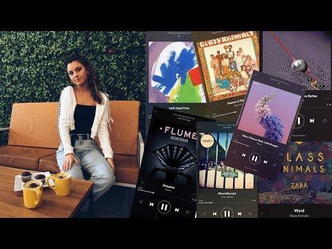 Get chill with me playlist 2018 | My alternative playlist!