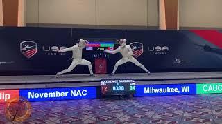 Milwaukee JMS NAC 2019 - L4 - Cauchon CAN v Dolegiewicz USA