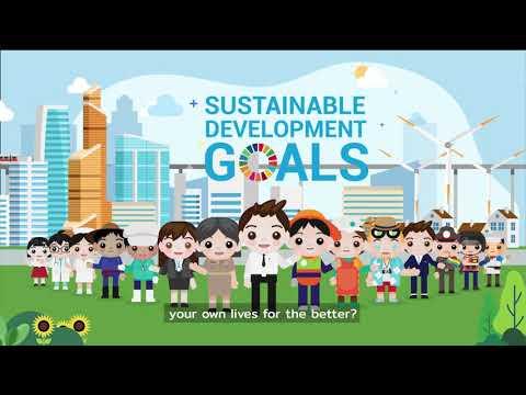 ชุดวิดีทัศน์ เพื่อเสริมสร้างความตระหนักรู้เกี่ยวกับ SDGs ภาย ...