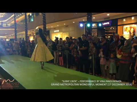 SURAT CINTA - VINA PANDUWINATA Live Performance at GRAND METROPOLITAN BEKASI