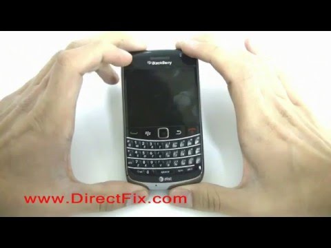 BlackBerry Bold 9700 Screen Replacement Directions
