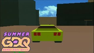Club Drive by PeteDorr in 10:05 - SGDQ2018