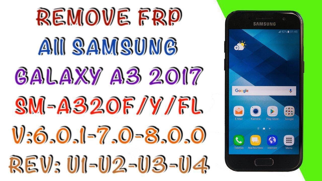 Bypass FRP Samsung A7 (2017) SM-A720F Android Oreo 8 0 Tanpa