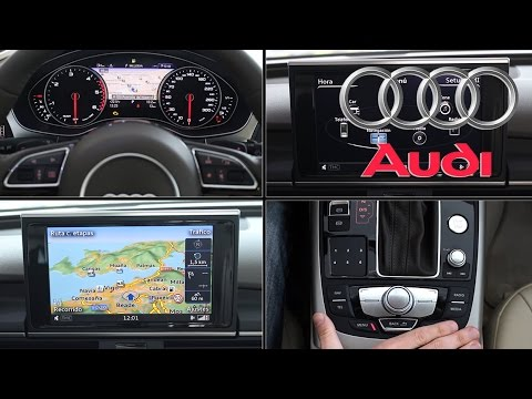 AUDI MMI Multi Media Interface 2015 | Revisión en profundidad