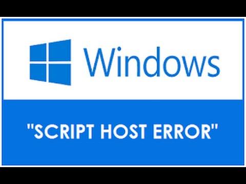 How To Fix Windows Script Host Error 100% Worked