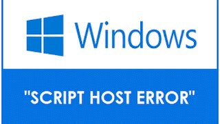 How To Fix Windows Script Host Error 100% Worked