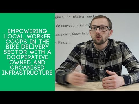Empowering local worker coops with a coop organised infrastructure