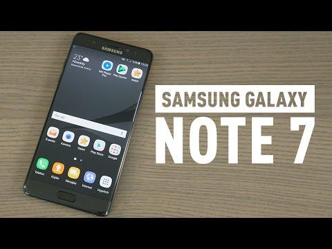Samsung Galaxy Note 7 incelemesi