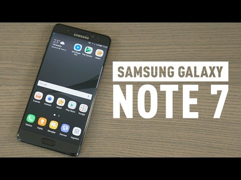 Samsung Galaxy Note 7 incelemesi