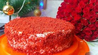 Торт Красный бархат,цыганка готовит. Gipsy cuisine.🍰