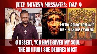 July Novena Messages  Day 9