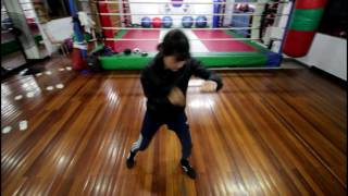 대구 달서권투 체육관 매력터지는 여성회원의 쉐도우 복싱! shadowboxing training!