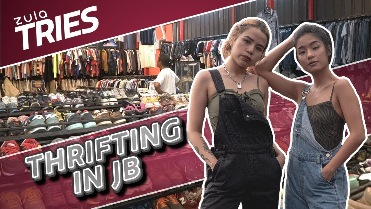 63ac2e9258 ZULA Tries: Thrift Shopping in JB + GIVEAWAY! | EP 24 – Shopping time
