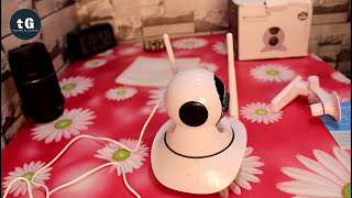 720P Wireless Wifi IP Camera - Best CCTV Camera for your Home - Unboxing, Setup & Review