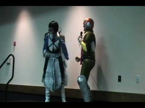 """Las Vegas Supercon (May 22, 2010) - Karaoke - Cid Raines and Captain Falcon - In the Air Tonight"""""""