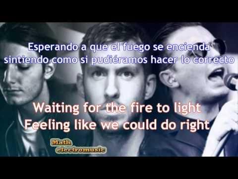 Calvin Harris  Alesso   Under Control Ft Hurts  Letra Lyrics Español Ingles HD