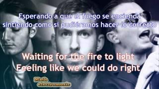 Repeat youtube video Calvin Harris  Alesso   Under Control ft Hurts  letra lyrics Español Ingles HD