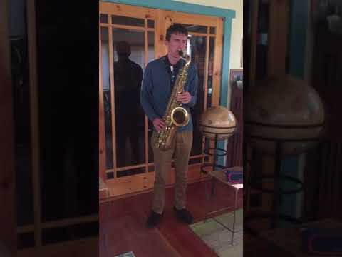 Dolphin Shoals—tenor Sax Cover