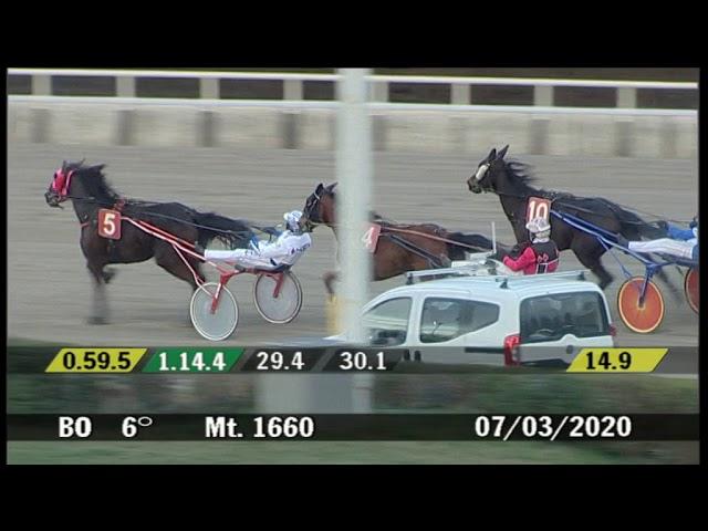2020 03 07 | Corsa 6 | Metri 1660 | Premio Donne E Mamme