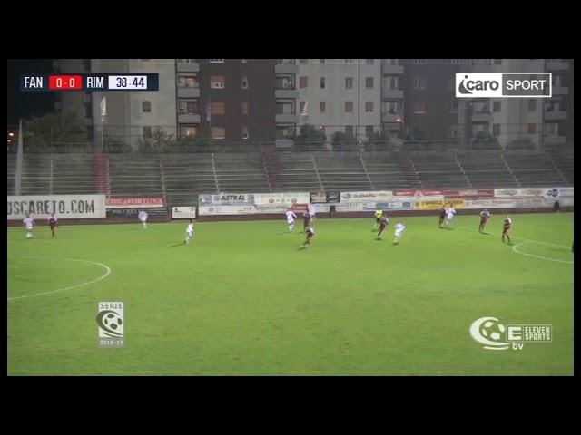Icaro Sport. Alma Juventus Fano-Rimini 1-0, il servizio
