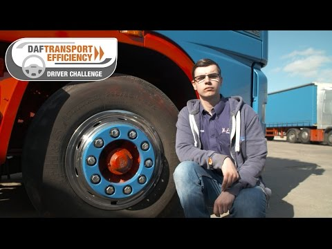 DAF Transport Efficiency Driver Challenge - Meet the Finalists: Tom May