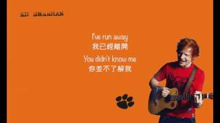 l中文字幕l Ed Sheeran - Moody Ballad of Ed