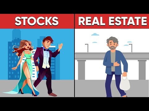 Real estate vs stocks Market - Where the rich people invest their money?