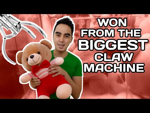 Giant Claw Machine Win (Philippines)