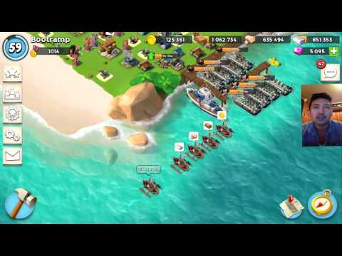 Boom Beach OPERATION REWARD 720 FORCE POINTS | SPAWN RATE [ Real Player And NPC ]
